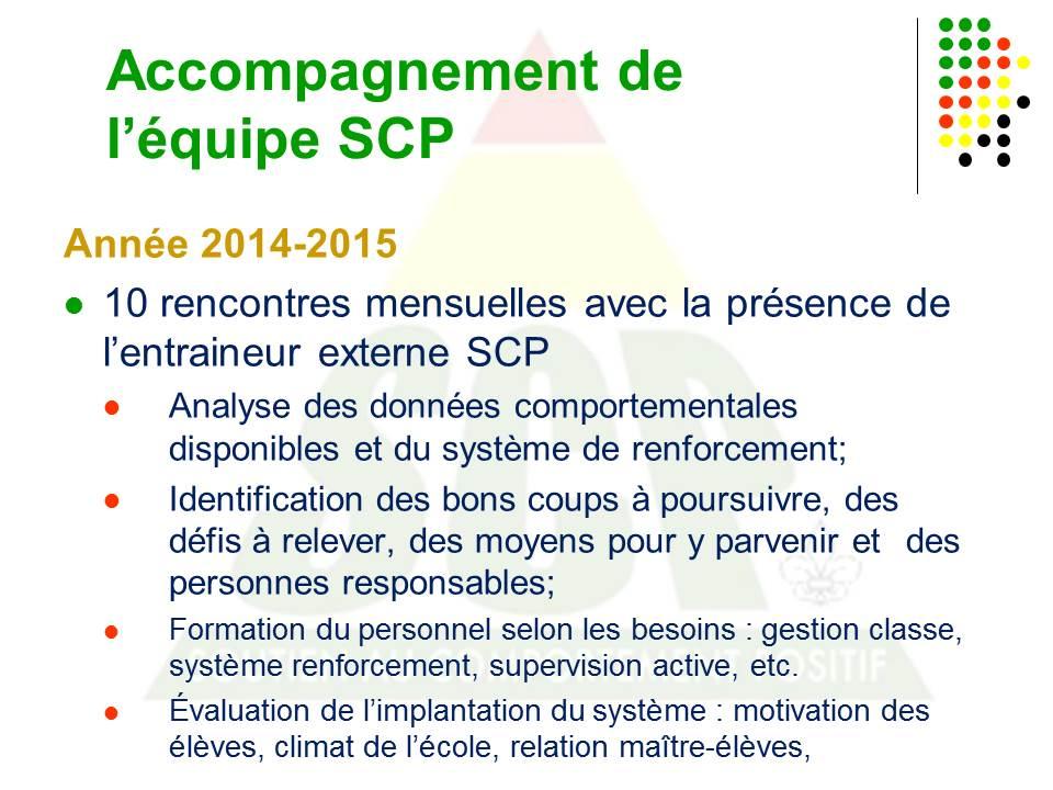 Comment implanter le SCP? (4/6)